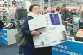 Покупательская активность в Германии ниже, чем предполагалось
