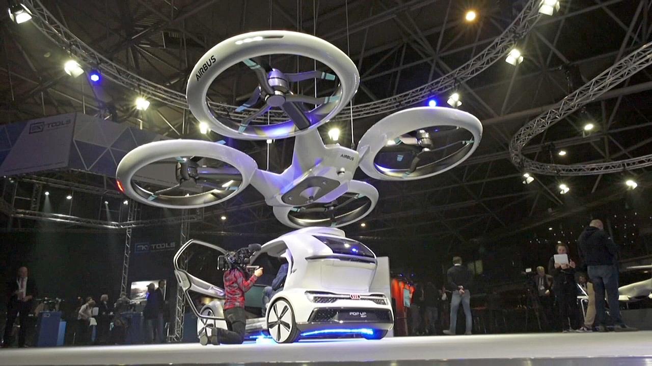Летающее такси от Audi и Airbus впервые испытали в воздухе