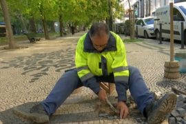 Спасут ли ремесло укладки знаменитого португальского тротуара