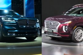 Hyundai Palisade и Lincoln Aviator дебютировали на автошоу в Лос-Анджелесе