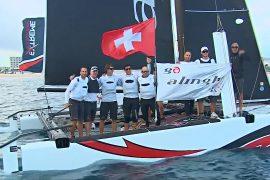 В гонках на катамаранах Extreme Sailing победили швейцарцы