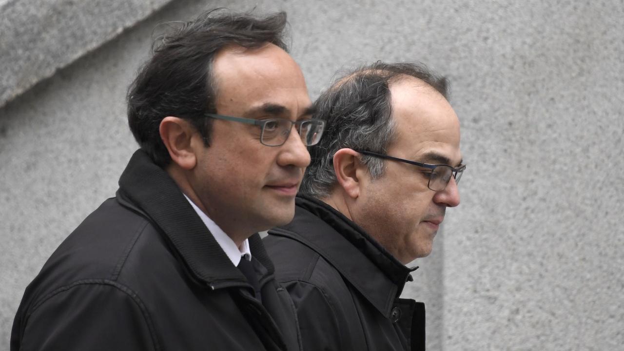 Ещё двое заключённых каталонских политиков объявили голодовку
