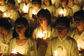 В День прав человека у посольств Китая снова протестуют