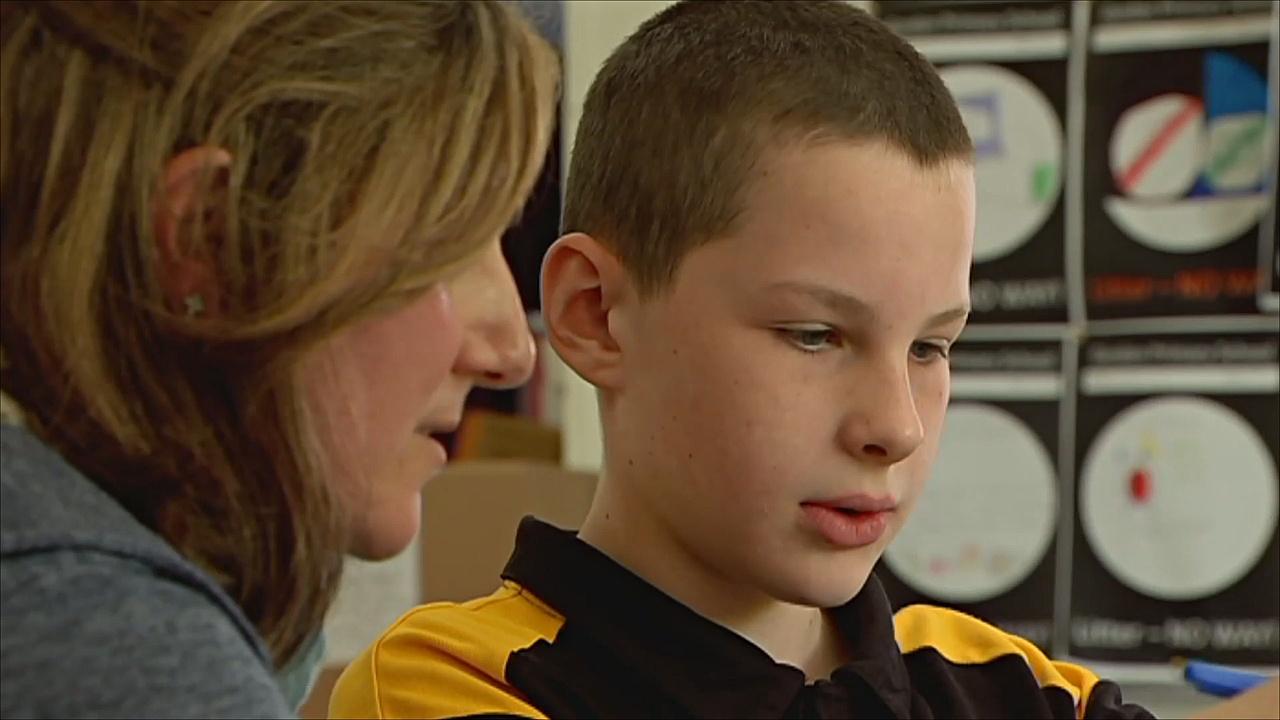 Детей пытаются услышать в одной из школ Австралии