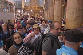 В Вифлеем едет рекордное число туристов