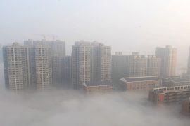 79 городов Китая окутал смог