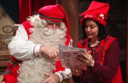 Резиденция Санты: последние приготовления к Рождеству