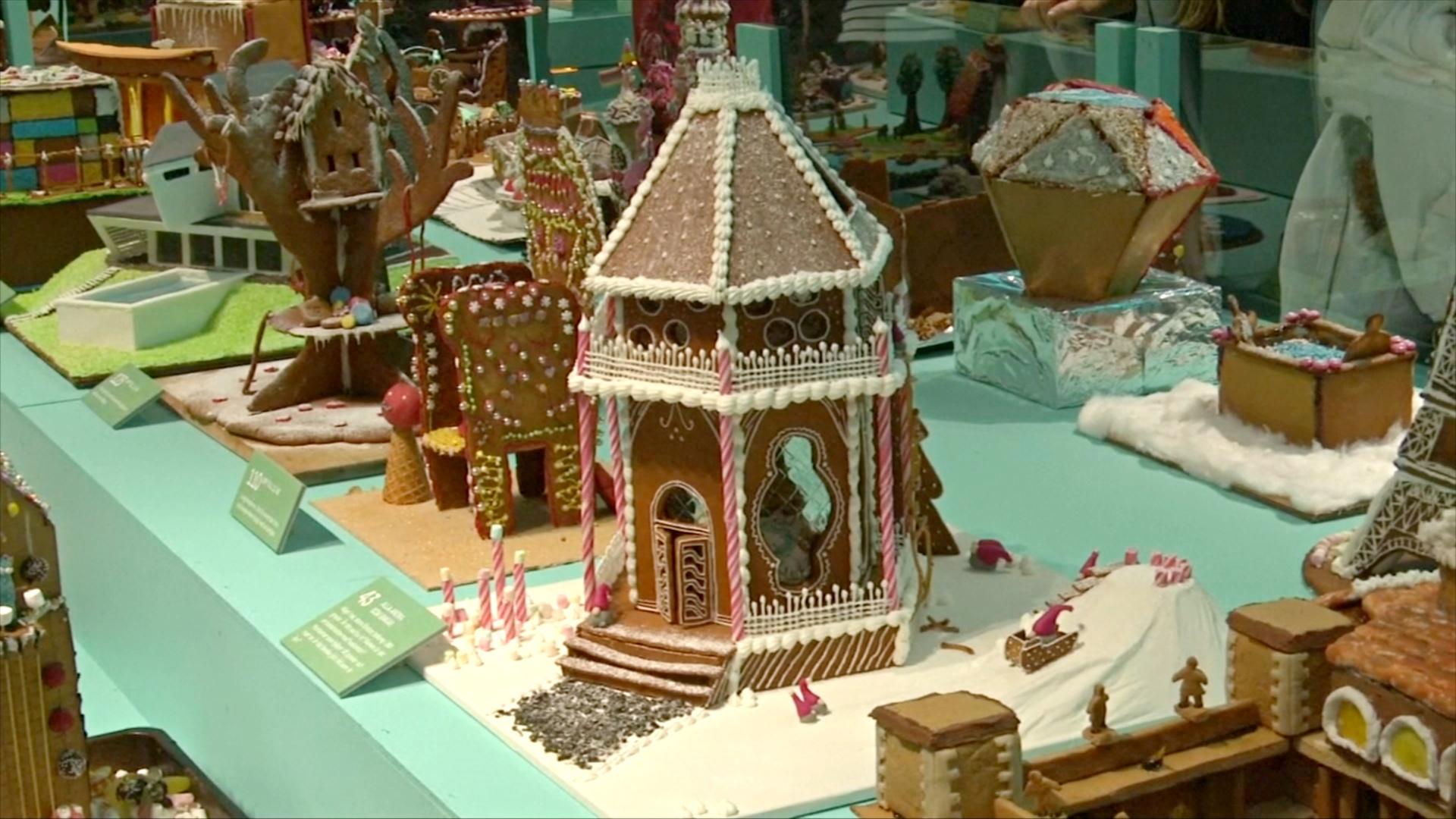 Удержаться и не съесть: выставка пряничных домиков проходит в Стокгольме