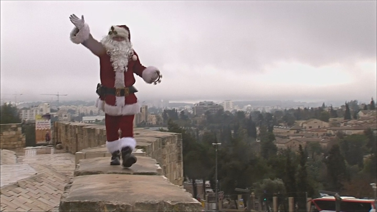 В Иерусалиме воцарился рождественский дух