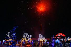 4 млн рождественских огней украсили дом в Хорватии
