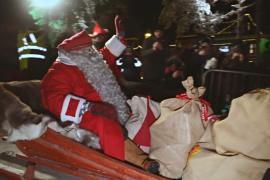 Санта-Клаус отправился в рождественское путешествие по миру