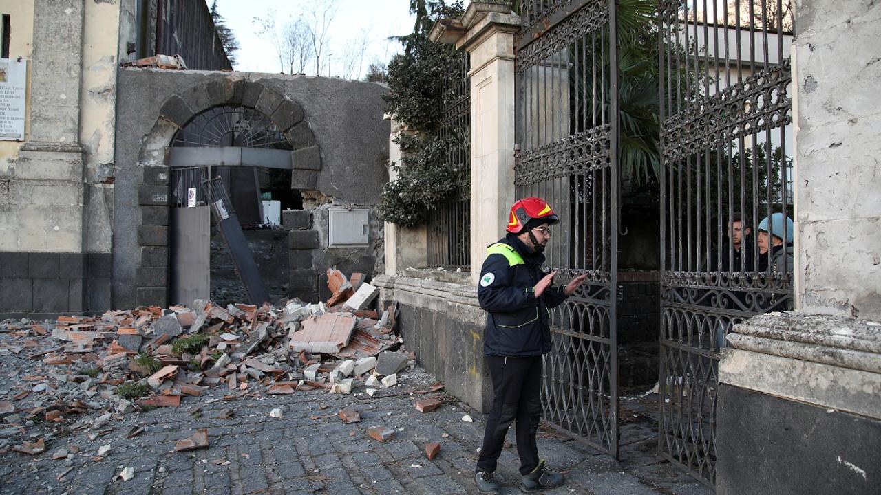 На Сицилии произошло землетрясение силой 4,8 балла