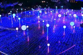 Токио превратился в город праздничной иллюминации
