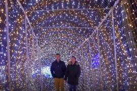Хорват создал рождественскую деревню из 4 млн лампочек