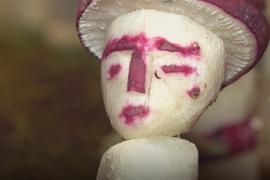 Скульптуры из редиски сделали в честь Рождества в Оахаке