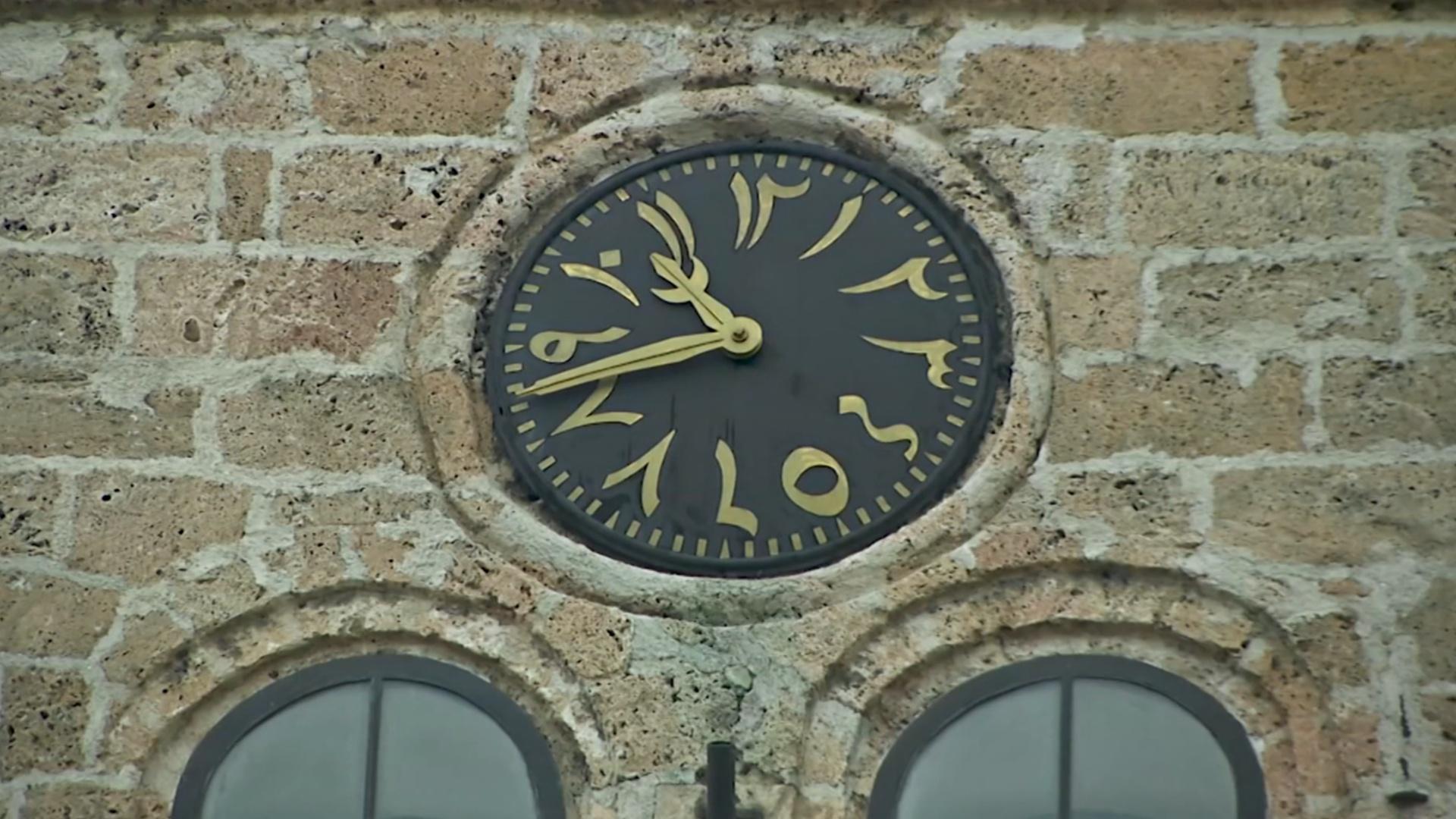 Старинные часы в Сараеве по-прежнему показывают необычное время