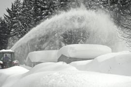 Снегопады в Австрии: не менее троих погибших