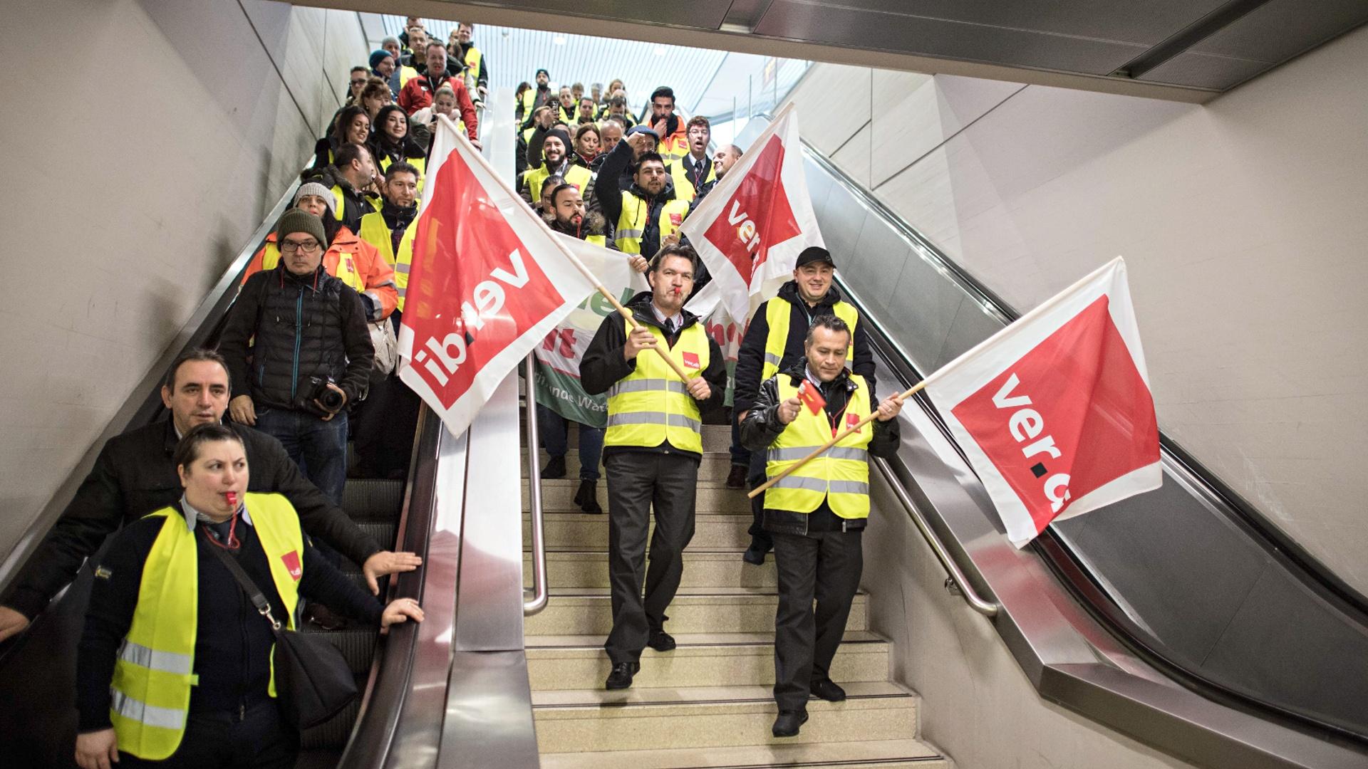 В аэропортах Германии из-за забастовки отменили 640 рейсов