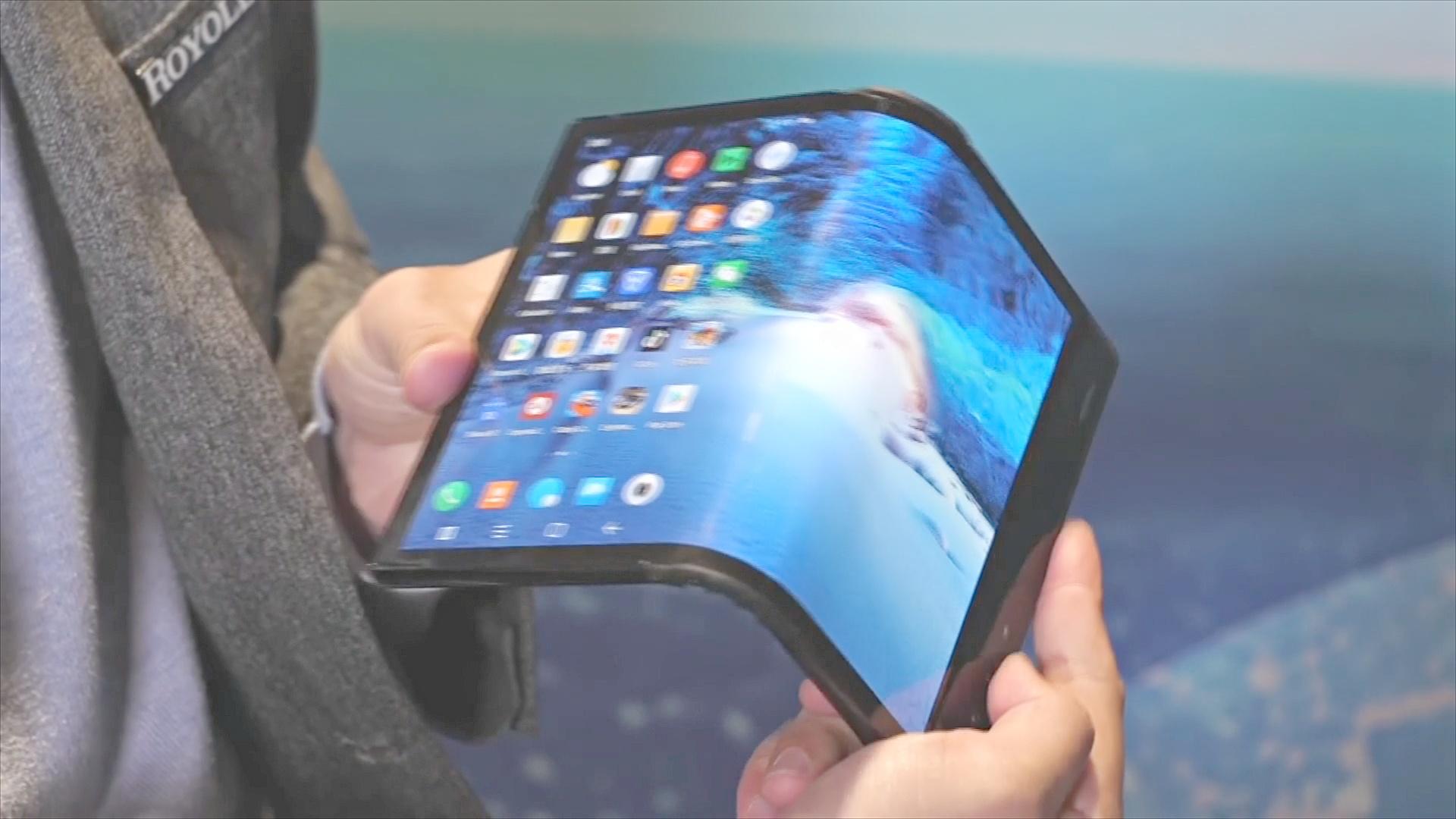 CES-2019 в Лас-Вегасе: сгибающийся телефон и выплывающий телевизор