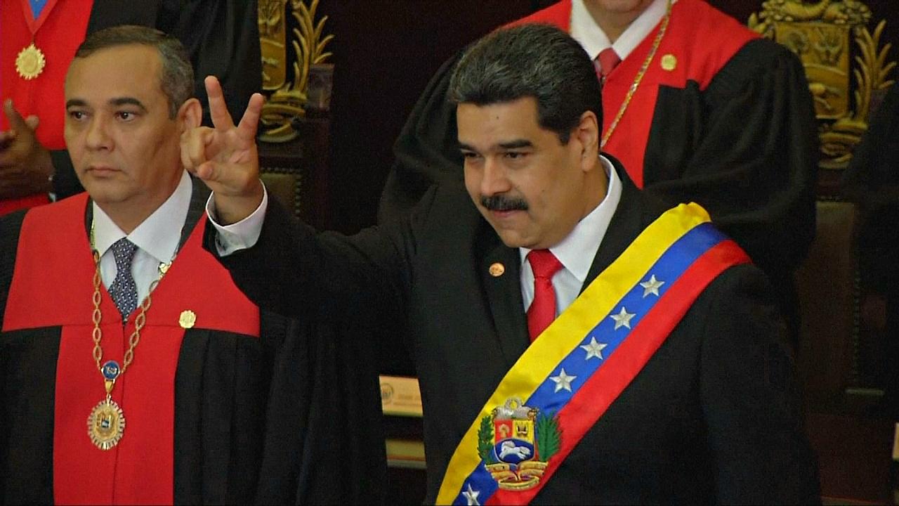 Парагвай и Аргентина осудили инаугурацию президента Венесуэлы Николаса Мадуро