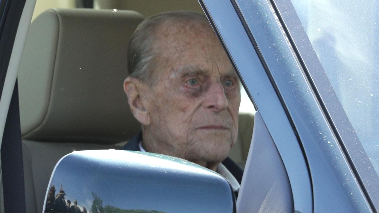 97-летний муж королевы Елизаветы II попал в ДТП