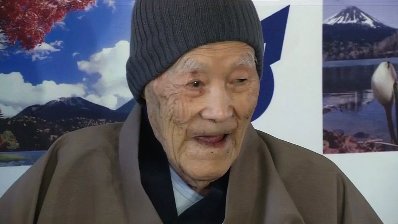 Старейший мужчина планеты Масадзо Нонака умер в возрасте 113 лет
