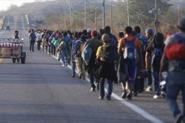 Караван гондурасских мигрантов всё ближе к границе США
