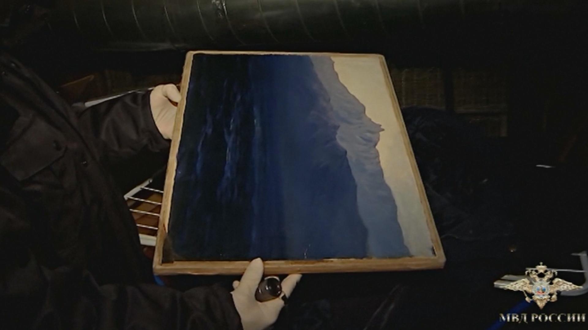 Найденная картина Куинджи не вернется на выставку в Третьяковку