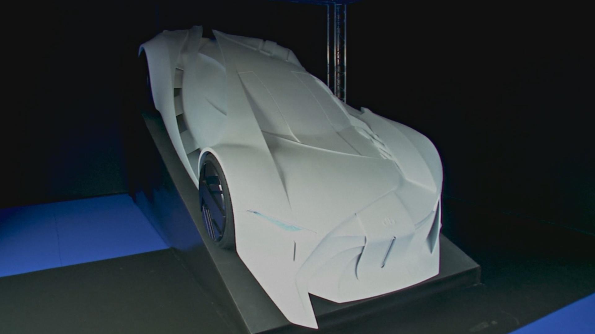 В Париже показали концепт-кар, созданный в честь Дэвида Боуи