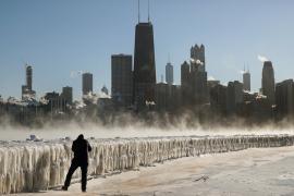 В США – рекордные холода, есть жертвы