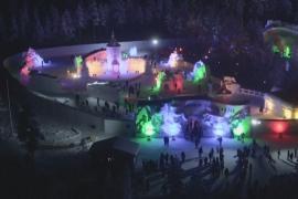 Снежный городок муми-троллей появился в Финляндии