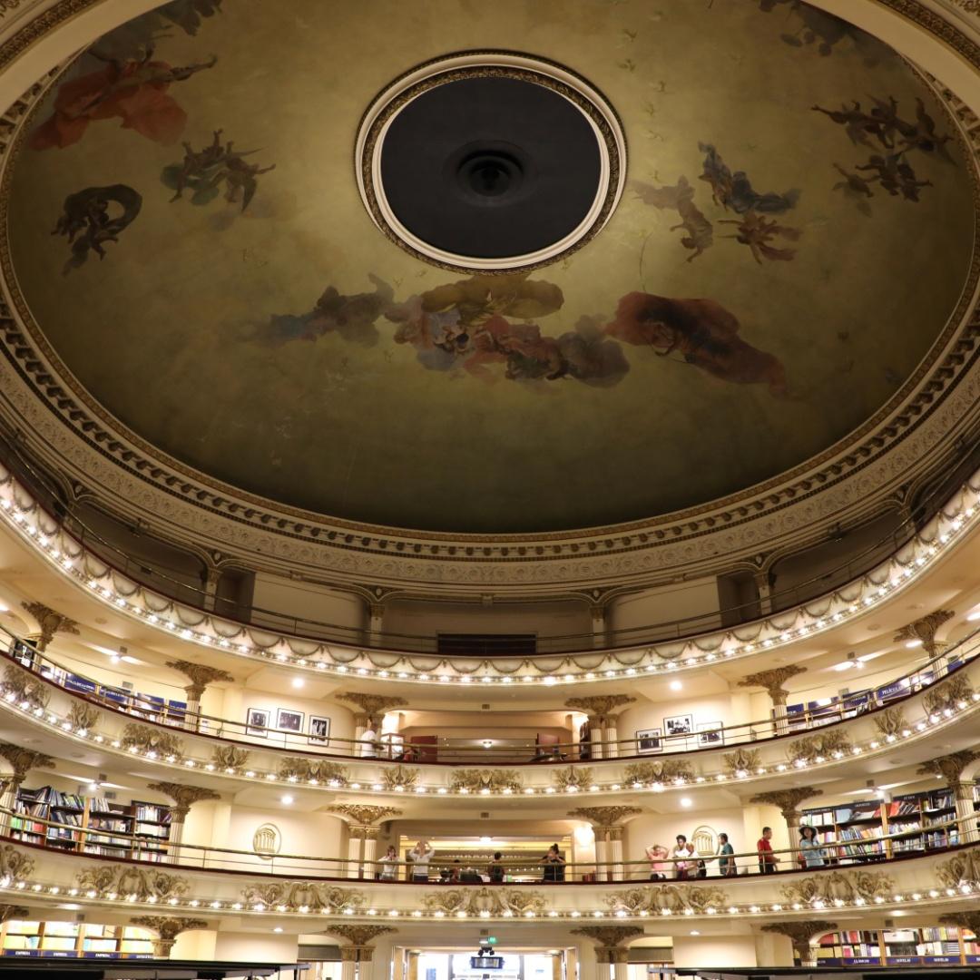 В чём уникальность самого знаменитого книжного магазина Буэнос-Айреса?