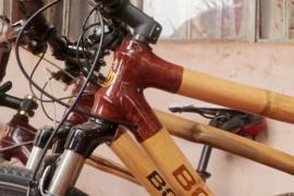 Велосипедные рамы из бамбука – дешёвая альтернатива в Уганде