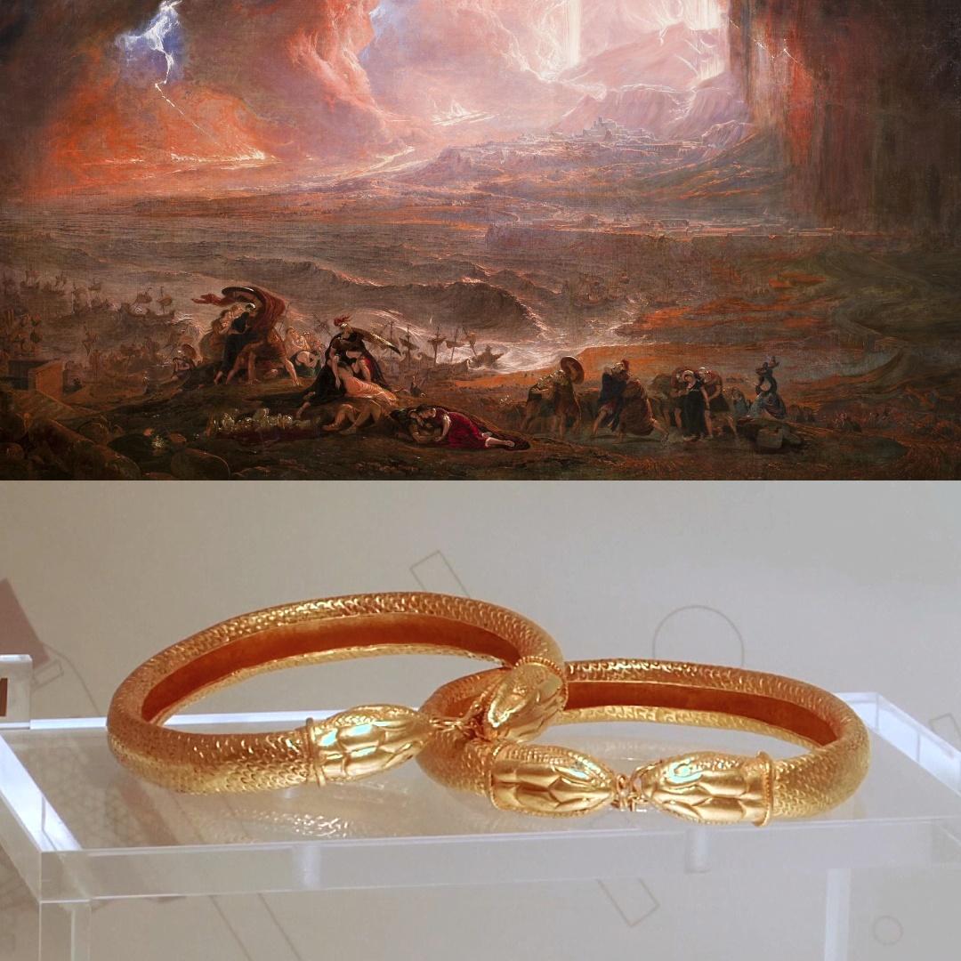 Город, уничтоженный Везувием: артефакты Геркуланума показали на выставке