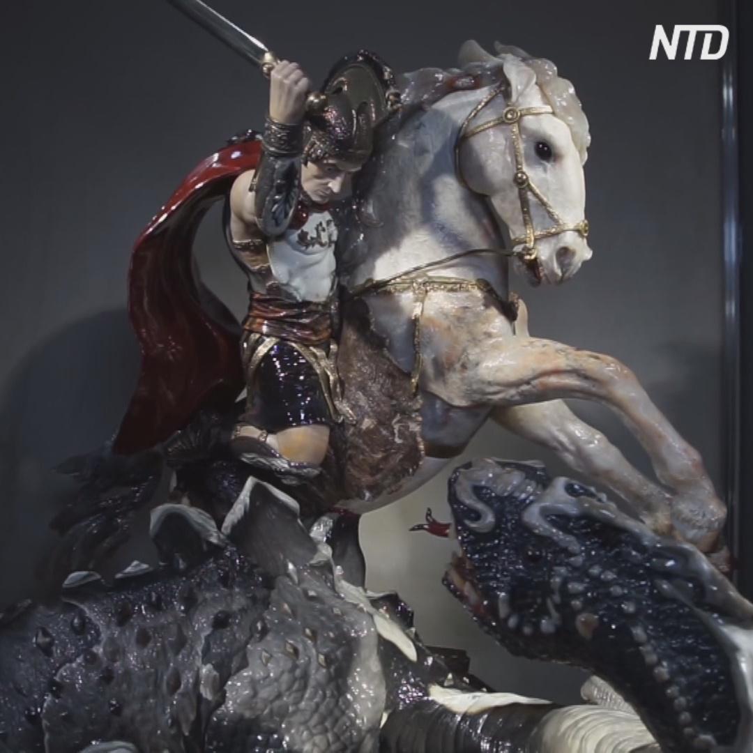 Уникальные скульптуры из самоцветных камней создают в Екатеринбурге