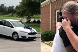 Щедрая мама растрогала учительницу до слёз