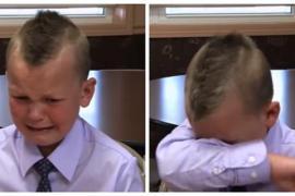 Пятилетний мальчик не испугался и спас отца