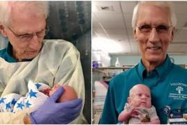 Дедушка-волонтёр убаюкивал чужих детей, а потом подарил $1 млн