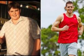 Парень с весом более 150 кг изменился по дороге к мечте