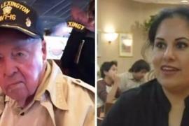 Ветеран войны шокировал подарком официантку