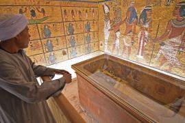 Гробница Тутанхамона открылась после девяти лет реставрации