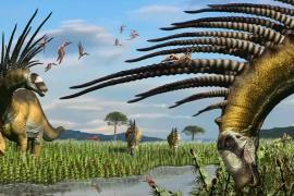 Аргентинские учёные открыли новый вид динозавра с шипами на шее