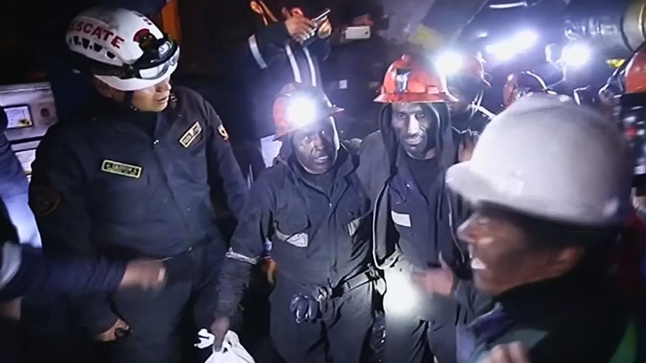 Три дня подземного плена: в Перу спасли шахтёров