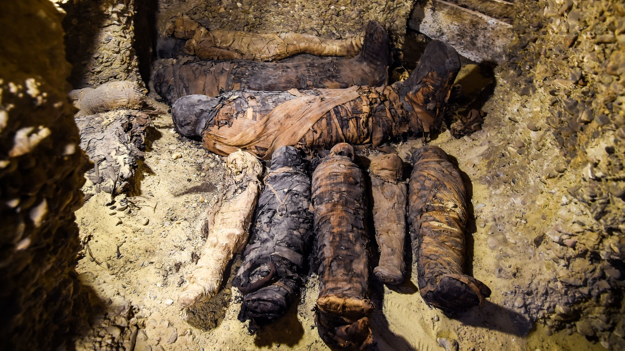 В Египте нашли некрополь с десятками мумий