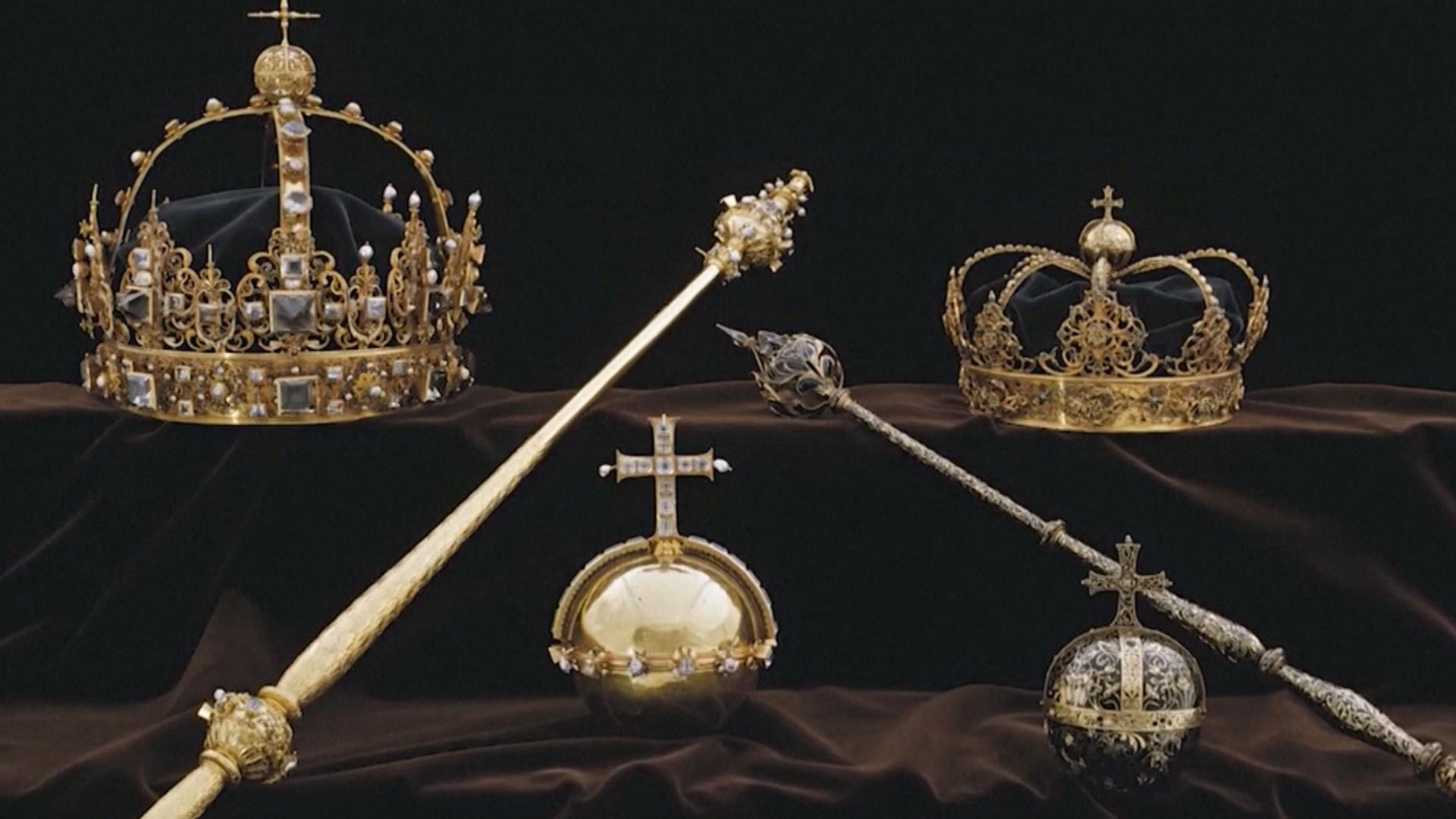 Похищенные шведские короны и державу XVII века нашли в мусорном баке