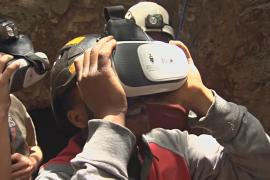 Очки виртуальной реальности позволяют осмотреть «Колыбель человечества»