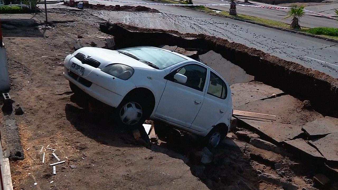 Наводнения вызвали хаос в Перу и Чили