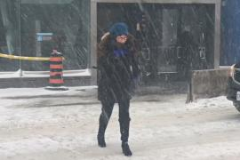 В Торонто из-за метелей закрыли школы