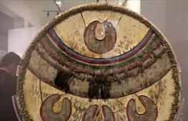 Щит Монтесумы II выставили в Мехико