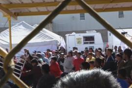 В миграционном лагере на границе с США начались волнения